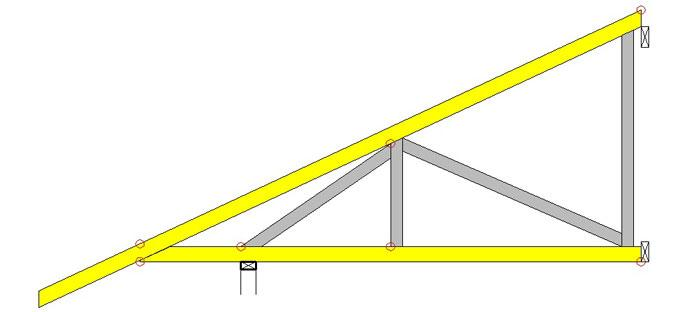 Cantilevered Trusses